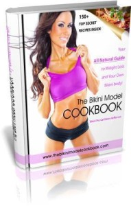 The Bikini Model Cookbook Cover
