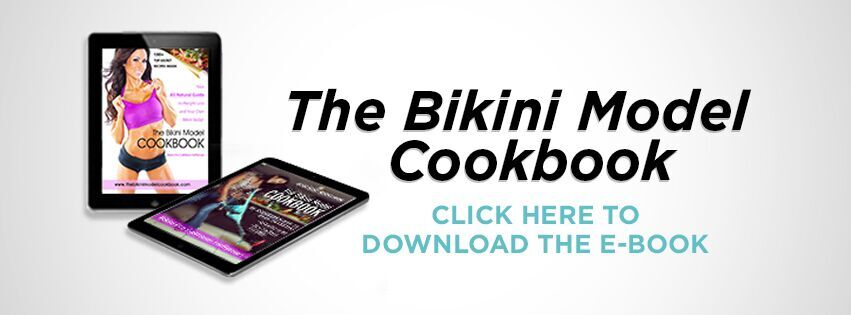 Bikini Fit Fitness Cookbook Banner